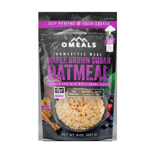 OMEALS Maple Brown Sugar Oatmeal, 6 ct./8 oz.