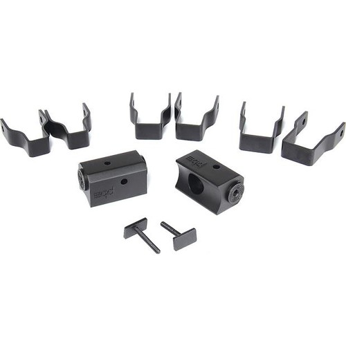PowerBass XL-SBSCLAMP Thin square clamps for PowerBass XL soundbars and PODs