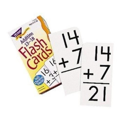 Skill Drill Flash Cards: Addition 13-18