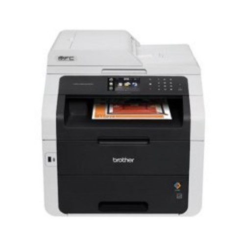 Brother Wireless Color Laser LED All-In-One Printer, Copier, Scanner, Fax, MFC-9340CDW