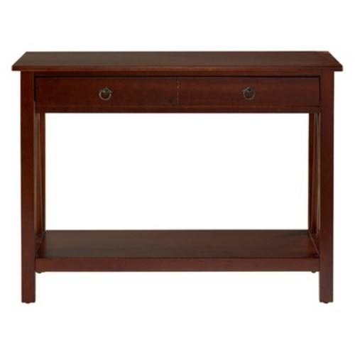 Console Table Tobacco - Linon Home Decor