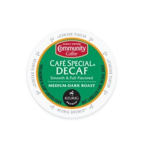 Keurig K-Cup Pack 18-Count Community Coffee Caf Special Decaf