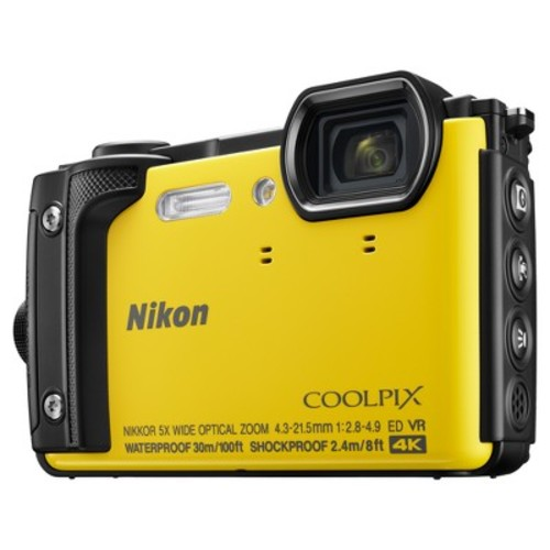 COOLPIX W300 Digital Camera (Yellow)