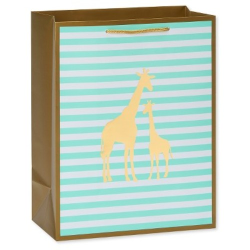 Gold Giraffes Gift Bag - Spritz