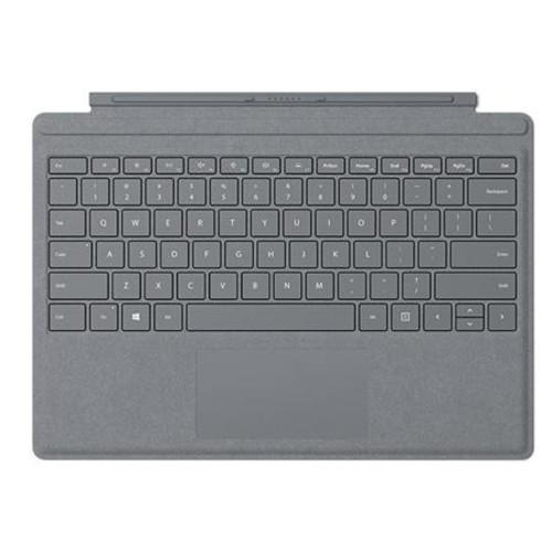 Microsoft Surface Pro Signature Type Cover Platinum W/Surface Pen/Microfiber Clt