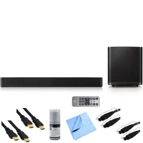 LG LAS950M - 7.1ch 700w Smart Hi-Fi Wireless Bluetooth Soundbar Bundle