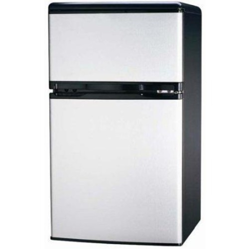 Igloo 3.2 cu. ft. Mini Refrigerator in Stainless Steel