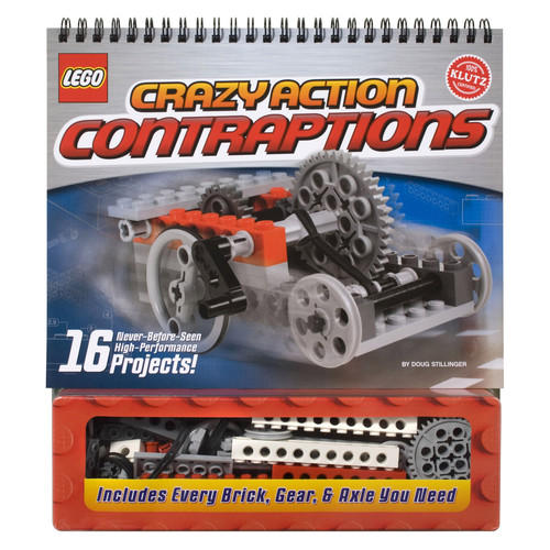 Klutz Press Lego Crazy Action Contraptions Book