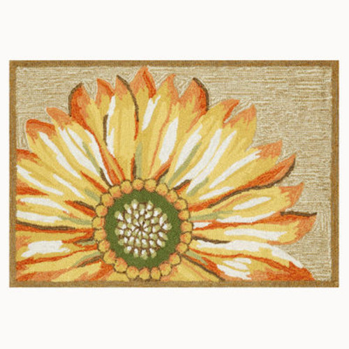Front Porch Rug - Sunflower [Select A color : Yellow]
