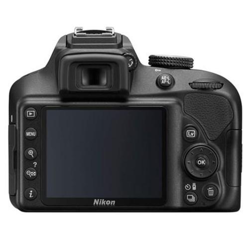 Nikon D3400 DSLR with 18-55mm DX VR Lens, Black With Accessory Bundle