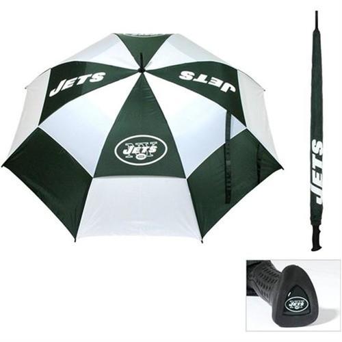 Team Golf New York Jets 62 Double Canopy Golf Umbrella