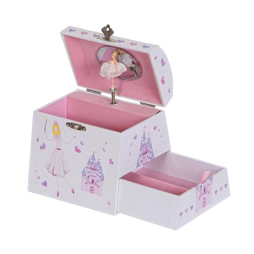 Mele & Co. Amy Girls Musical Ballerina Jewelry Box