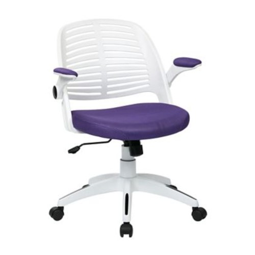 Ave Six Tyler Metal & Plastic Office Chair