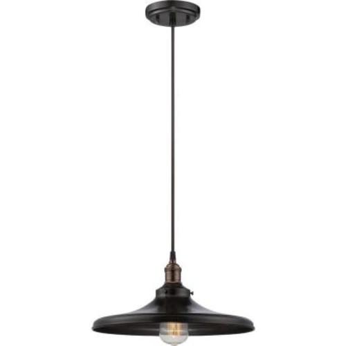 Filament Design Glomar 1-Light Rustic Bronze Incandescent Ceiling Pendant