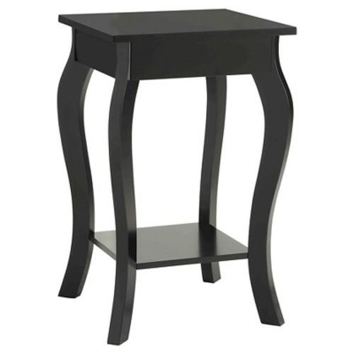 Ella End Table Black - Convenience Concepts