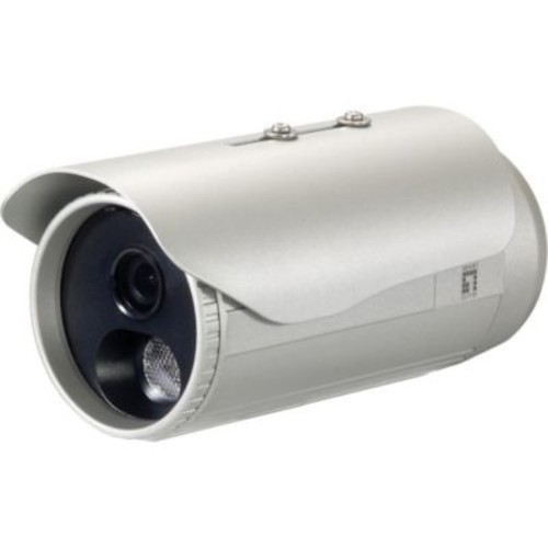 LevelOne FCS-5053 Wired Outdoor Network Camera, Day/Night Vision, White