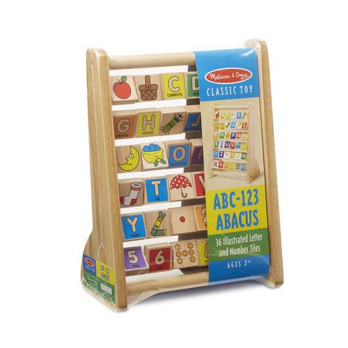 Melissa & Doug Learning & Educational Toys Melissa & Doug ABC-123 Abacus