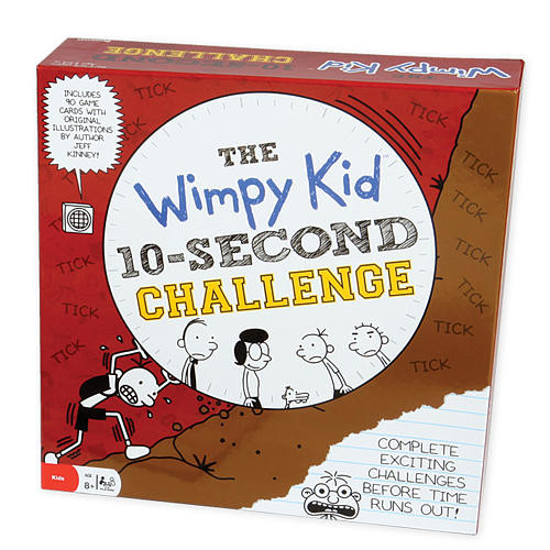 Diary of a Wimpy Kid 10 Second Challenge Game