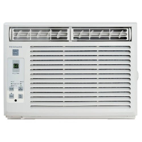 Frigidaire - 5000-BTU Window-Mounted Mini-Compact Air Conditioner with Full-Function Remote Control - White