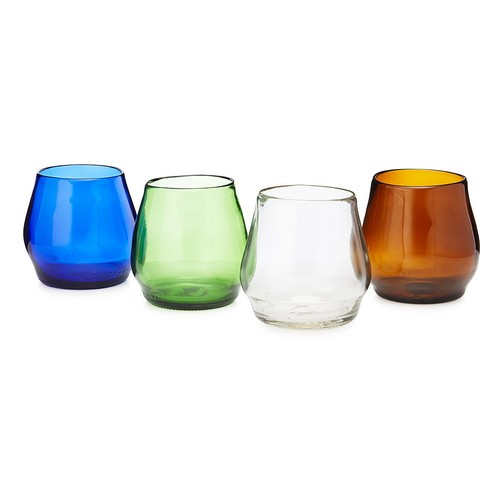 Recycled Wine Glass Set
