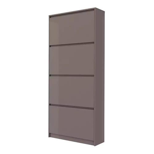 Tvilum Bright Tall 4-Drawer Shoe Cabinet