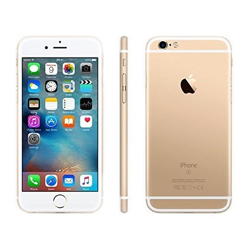 Apple iPhone 6S Plus, GSM Unlocked, 16GB - Gold (Certified Refurbished)