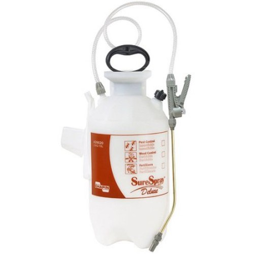 Chapin 26020 2-Gallon Deluxe SureSpray Sprayer For Fertilizer, Herbicides and Pesticides [2 Gallon]