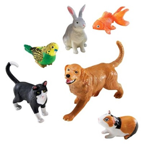 Learning Resources Jumbo Domestic Pets Play Set