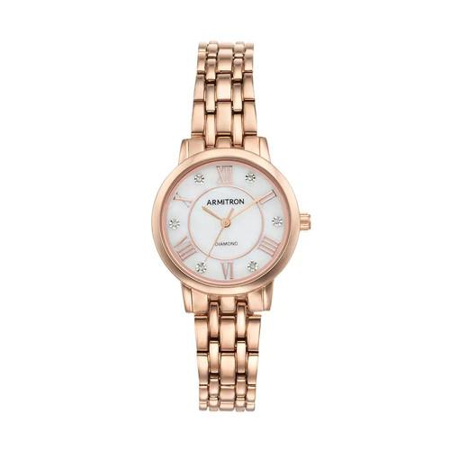 Armitron Women's Diamond Watch - 75/5540MPRG