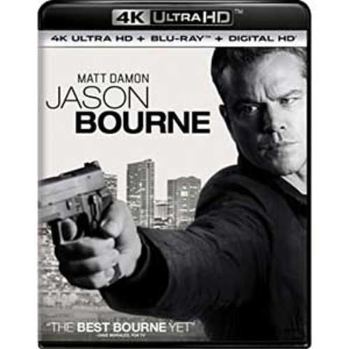Jason Bourne [4K UHD] [Blu-Ray] [Digital HD]