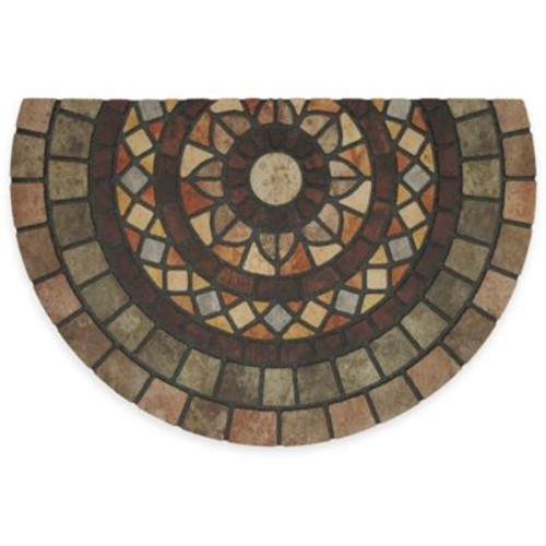 Mohawk Home Mosaic Mythos 23-inch x 35-inch Recycled Rubber Slice Door Mat