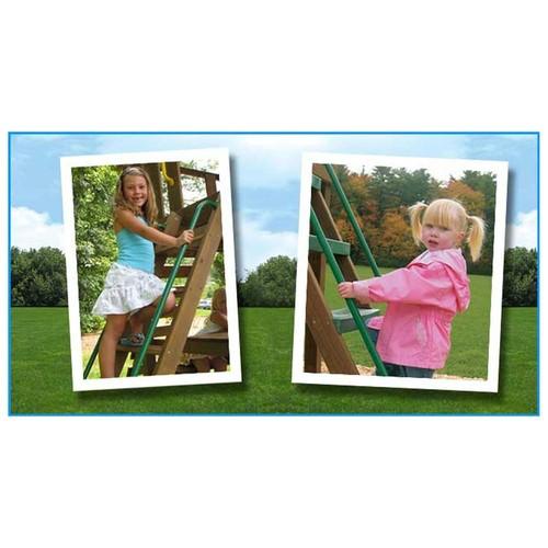 Kidwise Access Ladder Handles (Set of 2) Green