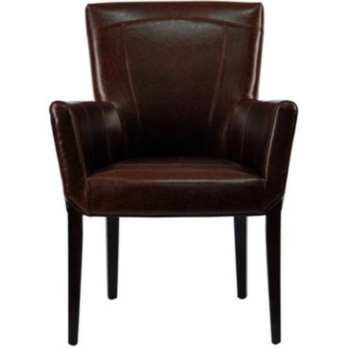 Ken Arm Chair Brown - Safavieh