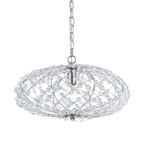 Horizons Silver Web Pendant Lamp
