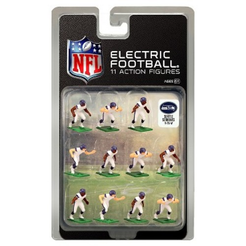 Seattle Seahawks White Uniform NFL Action Figure Set
