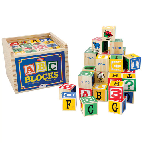 Alphabet Blocks by Schylling