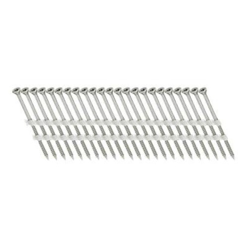 Scrail 2-1/2 in. x 1/9 in. 20-Degree Plastic Strip Versa Drive Nails Screw (500 per Pack)