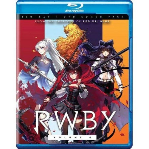 RWBY, Vol. 4 [Blu-Ray]