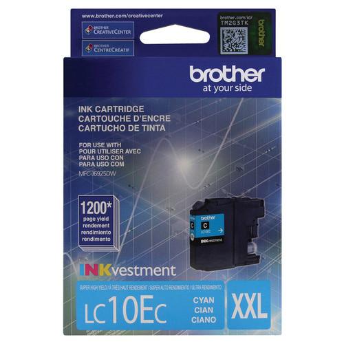 Brother - LC10EC High-Yield Ink Cartridge - Cyan