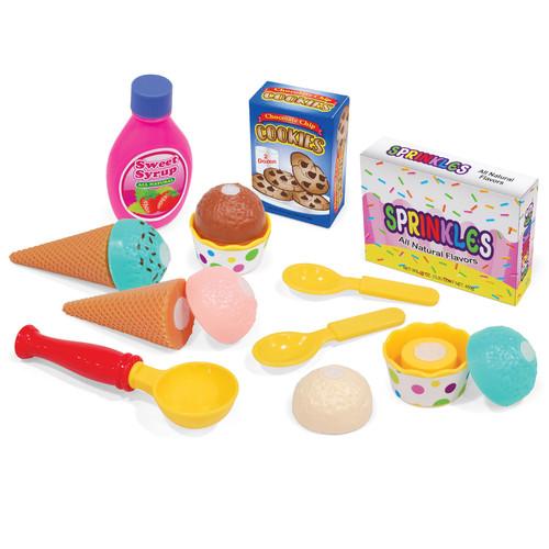 Just Kidz 15-Piece Ice Cream Set