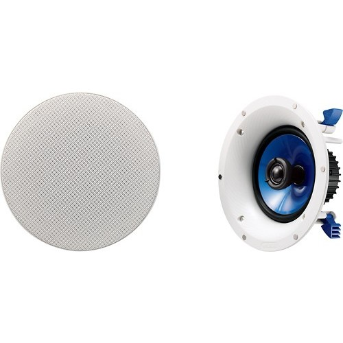 Yamaha NS-IC400WH In-Ceiling Speakers, White [90-Watts, 2 Speakers]