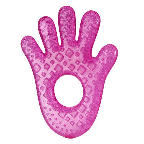 Munchkin Fun Ice Chewy Teether - Pink Hand