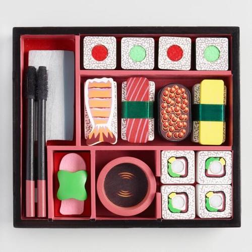 Melissa and Doug Wood 24 Piece Sushi Slicing Playset