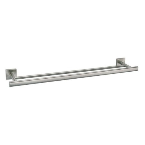 Gatco Elevate Double Towel Bar - Satin Nickel