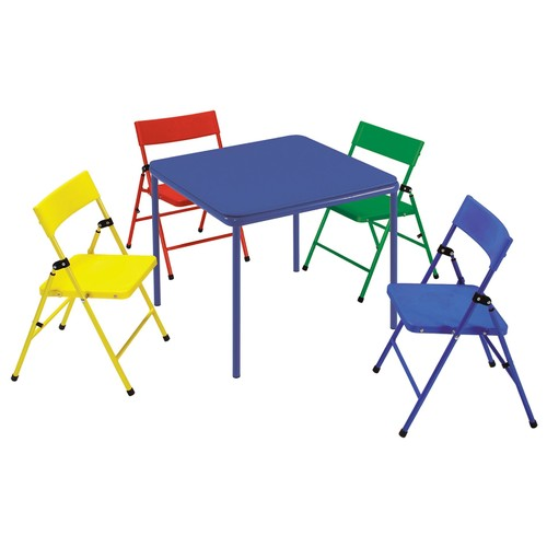 Cosco Kid's 5-Piece Folding Chair and Table Set
