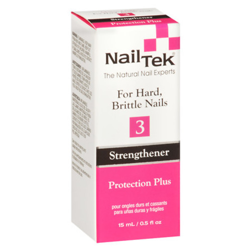 Nail Tek Protection Plus Strengthener For Hard, Brittle Nails