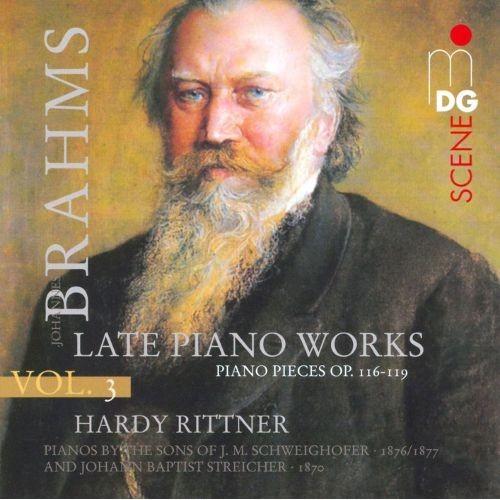 Brahms, Vol. 3: Late Piano Works [Super Audio Hybrid CD]