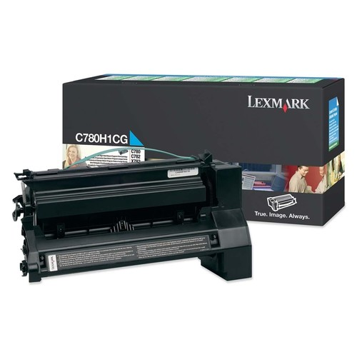 Lexmark - Toner Cartridge - Cyan - Cyan