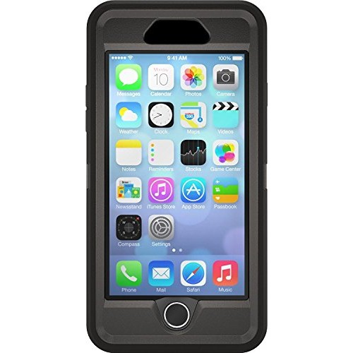 Otterbox iPhone 6 Case - Defender Series for 4.7inch case (Black/Black)