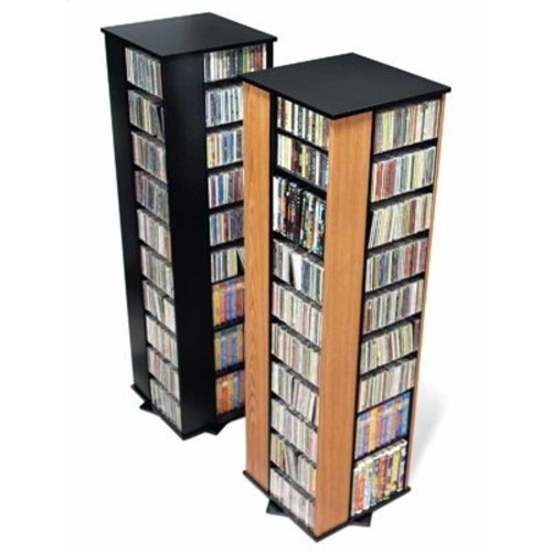 Prepac Large Four Sided Spinning Tower hold 1060 CDs